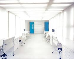 white office design. Simple White White Office Interior Black And Design Blue  Interiors Extraordinary Outstanding With