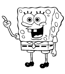 Small Picture Coloring Pages Free Spongebob Coloring Pages