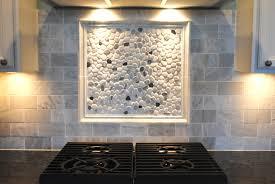 Rock Backsplash Kitchen River Rock Backsplash Give A New And Natural Accent To Your
