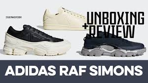 UNBOXING+REVIEW - <b>adidas Raf Simons</b> - YouTube