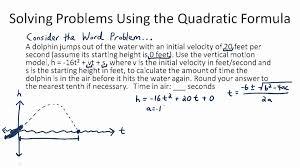solving quadratic equations worksheet elegant solving quadratic equation word problems worksheet