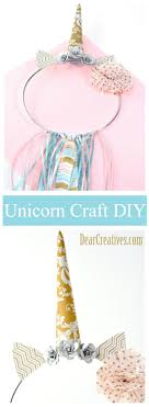 unicorn dream catcher do you love unicorn crafts this is one easy diy that you can make for party