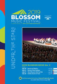 Porthouse Theatre Seating Chart Blossom Music Festival 2019 Book 2 By Live Publishing Issuu