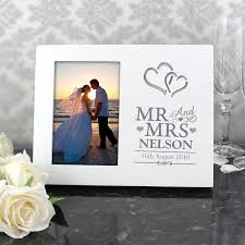personalised mr mrs 6x4 light up photo frame personalised gifts the present season