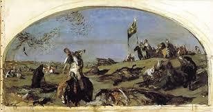 Куликово поле картин Православие и мир Работа Серова Валентин Серов После Куликовской битвы