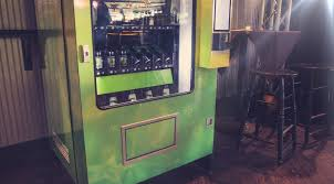 "Marijuana Vending Machine Beauteous South End Home To Seattle's First ""Weed Vending Machine"" South"