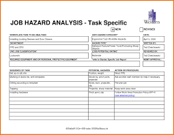 Safety Analysis Report Template Atlantaauctionco Com