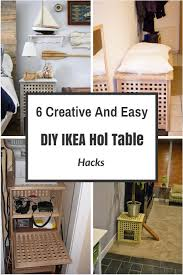 hol table by ikea is a cool and simple piece that is a coffee or side table with a storage space inside this adorable idea of a storage space makes it