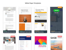 White Paper Templates Design Your Own White Paper Venngage
