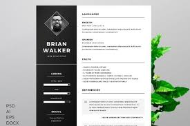 55 Premium Free Psd Cv Resumes For Creative People To Get The Best