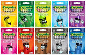 Small Picture The Crayon Blog New for 2013 The Crayola Tip Color Collection Set