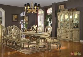11 white wood dining room sets whitehall formal dining double pedestal table antique white traditional formal
