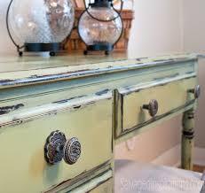 diy tutorial antiquing wood. MMS2-Vaseline-Distressed-Desk Diy Tutorial Antiquing Wood
