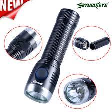 R04 Kính Thiên Văn đèn pin Cầm Tay Mạnh Mẽ Thực Tế Chiến Thuật LED Đèn Pin  Siêu Sáng Cho Đi Bộ Đường Dài và Cắm Trại|Đèn Flash & Đèn Pin