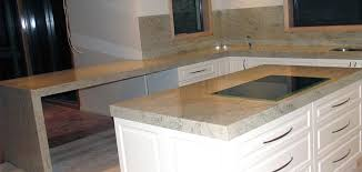 white cabinets with ivory fantasy granite worktops