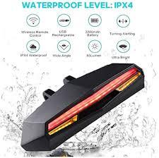 Seagullsfly New <b>Bicycle Tail Light</b> Waterproof <b>USB Charging</b> LED ...