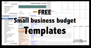 small business budget examples 2017 guide to the top free small business budget templates