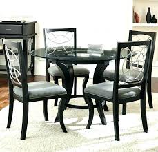round glass top dining table set 5 piece glass dining table set 5 piece glass dining round glass top dining table