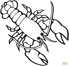 Small Picture Lobster 2 Coloring Page Free Printable Coloring Pages Coloring