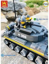 Đồ Chơi Lắp Ráp Lego Xe Tăng Cao Cấp Wange W366 - Đô Shop