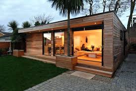 Prefabricated Pool Houses Prefab Backyard Guest House For With