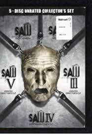 saw the final chapter poster. saw: collector set, uncut i-5 saw the final chapter poster