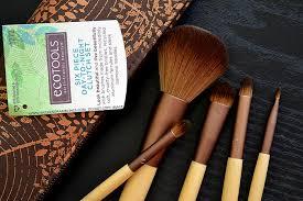 ecotools 6 piece day to night makeup brush clutch set review photos