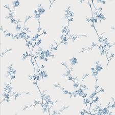 cherry blossom light blue trail