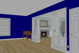 contractor s design concept for our living room wall