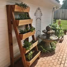 Cedar Vertical Herb Garden
