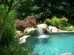 in ground pools with waterfalls. Pictures Of Inground Swimming Pools In Ground With Waterfalls