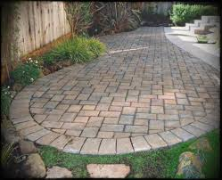 brick paver patio designs stone pavers design ideas landscaping in paver landscaping design