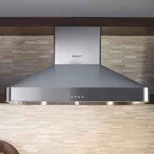 dacor dhw361 36 inch wall mount chimney range hood with 600 cfm internal blower halogen lighting and variable sds