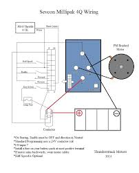 thunderstruck motors sevcon millipak pmac wiring diagram