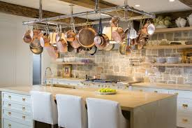 bright ideas for displaying pots and pans