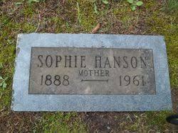Sophie Hanson (1888-1961) - Find A Grave Memorial