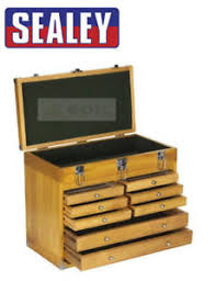 storage chest with drawers. Image Is Loading Sealey-Wood-Machinist-Cabinet-Toolbox-Chest-Drawer-Tool- Storage Chest With Drawers