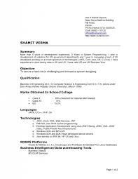 Most Recent Resume Format 2016 Resume Formats Word Word Resume Best