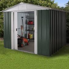8x6 yardmaster limited edition metal shed