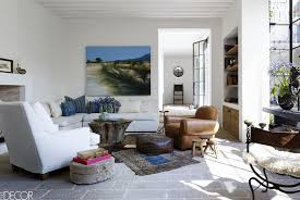 White couch living room ideas Nativeasthma Elle Decor 24 Best White Sofa Ideas Living Room Decorating Ideas For White Sofas
