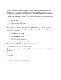 Clinical Sas Programmer Cover Letter Sample Tomyumtumweb Programmer