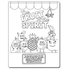 The Fruit Of The Spirit Free Downloadable Coloring Sheet