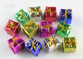 Christmas Present Decoration Boxes