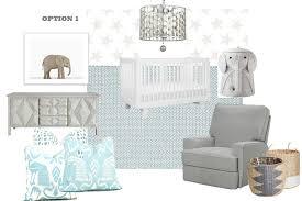mood board baby boy nursery design with chandelier for ideas 4
