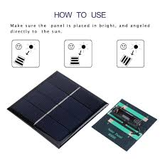 details about 1w 2v 4v solar charging panel solar power battery charger for 1 2v aa battery