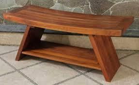 long teak wood shower bench teak furnituresteak furnitures with regard to wooden ideas 4