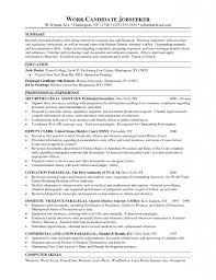 Sample Law Resumes Resume Cv Cover Letter