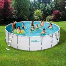 rectangle above ground pool sizes. Rectangular Swimming Pools Deep Metal Frame Above Ground Pool Size Rectangle Sizes