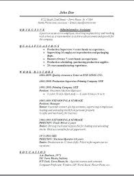 Resume Examples Executive Assistant Administrative Resume Examples