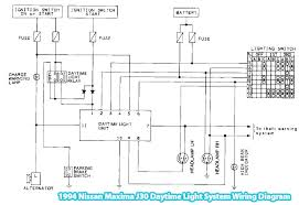 1994 mazda miata wiring diagram wirdig the 1994 nissan maxima j30 daytime light system wiring diagram